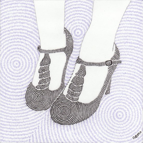 High Heel 1 Art Print