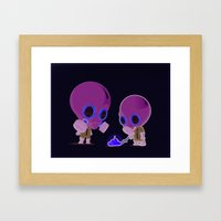 Signs of Life Framed Art Print