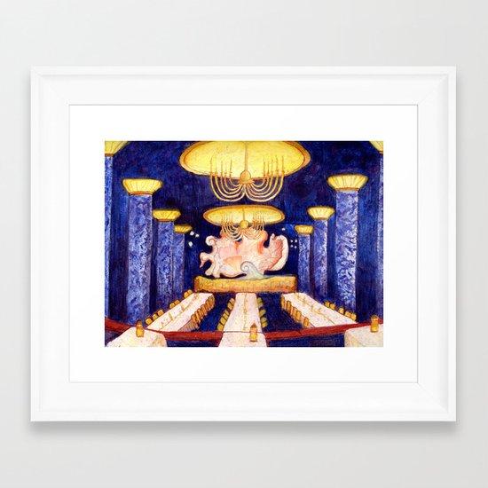 The Blue Room Framed Art Print
