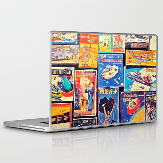 Toy Warp Laptop & iPad Skin