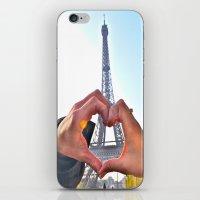Paris Love iPhone & iPod Skin
