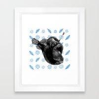 Ms Anglerfish Framed Art Print