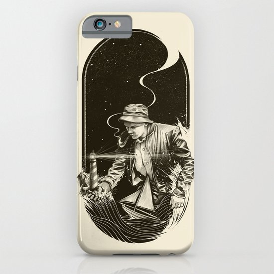 The Lighthouse Keeper iPhone & iPod Case