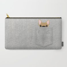 Pocket French Bulldog - Fawn Carry-All Pouch