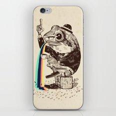 Strange Frog iPhone & iPod Skin