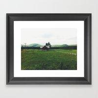 Farm In Haliburton Highl… Framed Art Print