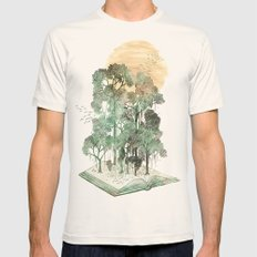 Jungle Book Mens Fitted Tee Natural SMALL