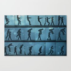 movement jump Canvas Print