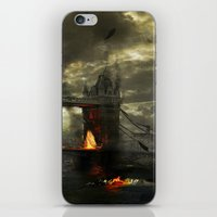 Thames Battle iPhone & iPod Skin