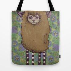 Fawn Girl Tote Bag