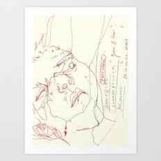 90 4 Art Print