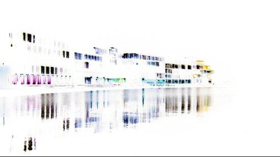 white harbor I. Canvas Print