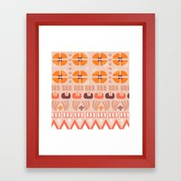 Nostalgic Summer Framed Art Print