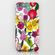 Tulips & Daffodils  iPhone 6s Slim Case
