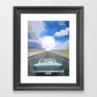 Trip To Pirate's Cove Framed Art Print