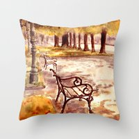 Ringstrasse In Vienna Throw Pillow