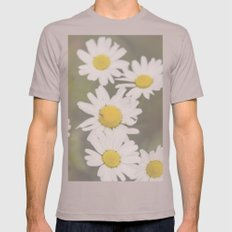 Flowers Mens Fitted Tee Cinder SMALL