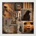 Gothic Menagerie Canvas Print