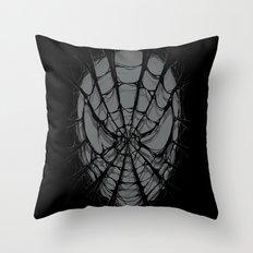 SpiderWeb Throw Pillow