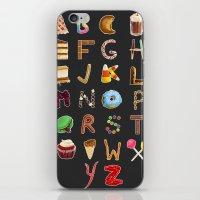 Dessert Alphabet  iPhone & iPod Skin