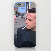 iPhone & iPod Case featuring Smoker by Ian Thompson