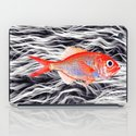 Fish on Fur IV iPad Case