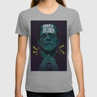 Halloween '13 Frankie Womens Fitted Tee Athletic Grey SMALL