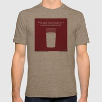 No138 My Inglourious Bas… Mens Fitted Tee Tri-Coffee SMALL