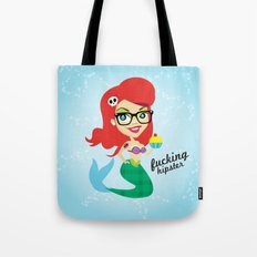 Hipster Ariel Tote Bag