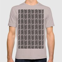 ARROW WIND Mens Fitted Tee Cinder SMALL