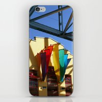 Banners Under Bridge iPhone & iPod Skin