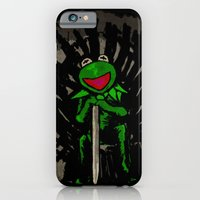 iPhone & iPod Case featuring King Kermit by carlosPARCE