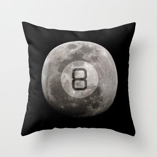 Magic 8 Ball Throw Pillow