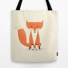 A Fox With Socks Tote Bag