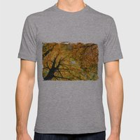 Autumn Sky Mens Fitted Tee Athletic Grey SMALL