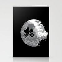 Yoda Phone Home Stationery Cards