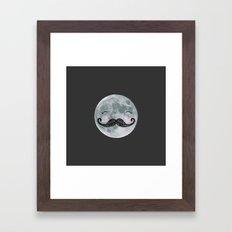 mr.moon Framed Art Print