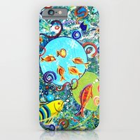 Fish Party iPhone 6 Slim Case