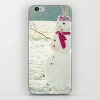 But, Snowmen Can't Talk iPhone & iPod Skin