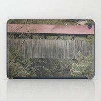 Covered Bridge, 1880 iPad Case