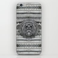 iPhone & iPod Skin featuring Aztec Darth Troopers Bla… by Greenlight8