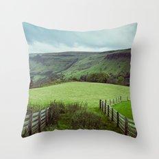 Glens of Antrim Throw Pillow