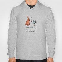Pipe-smoking Rabbit Hoody