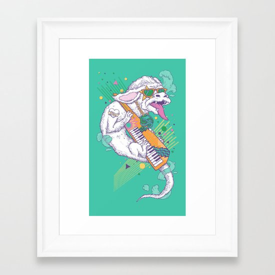 NeverEnding Solo Framed Art Print