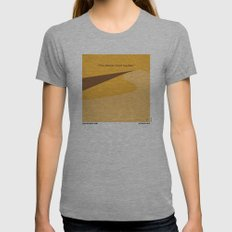 No251 My DUNE minimal movie poster Womens Fitted Tee Athletic Grey SMALL