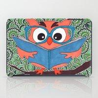 Owl Drawing Meditation iPad Case