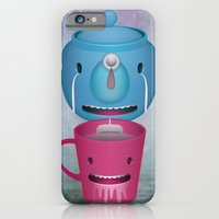 iPhone & iPod Case featuring Tea Potty by mrbiscuit
