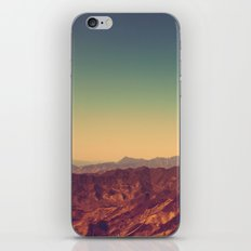 Mountains Clashed iPhone & iPod Skin