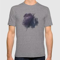 Cosmic Jargon Mens Fitted Tee Athletic Grey SMALL
