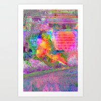 Burner Art Print